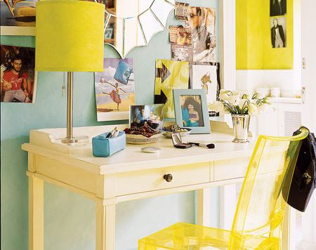 Blue + Yellow = Awesome!