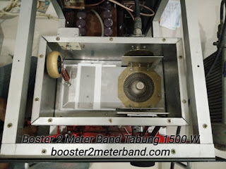 Boster 2 Meter Band VHF Tabung 1500 W Lengkap dengan Power Supply