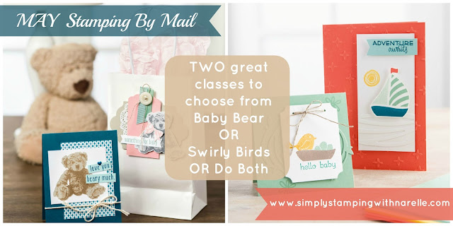 Stamping By Mail - Narelle Fasulo - Simply Stamping with Narelle - http://www.simplystampingwithnarelle.com/p/stamping-by-mail.html
