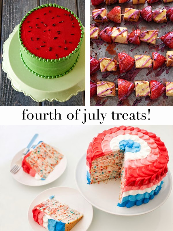 Style Caddy // Fourth of July Treats!