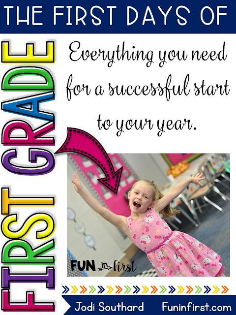 https://www.teacherspayteachers.com/Product/The-First-Week-of-First-Grade-Back-to-School-2619044