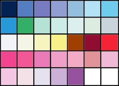 kolory dla lata