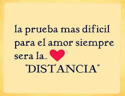 Frases amor a distancia