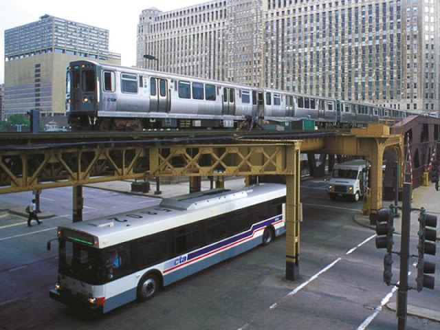 Como economizar no transporte em Chicago