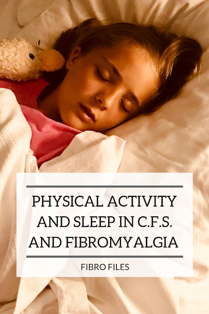 Physical Activity and Sleep in Chronic Fatigue Syndrome and Fibromyalgia