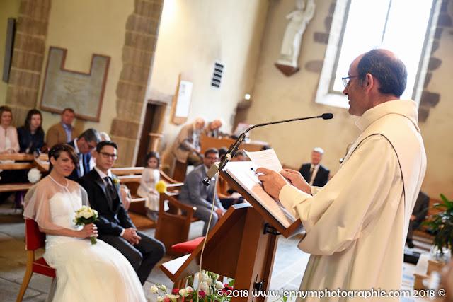 photo reportage mariage cérémonie église les herbiers