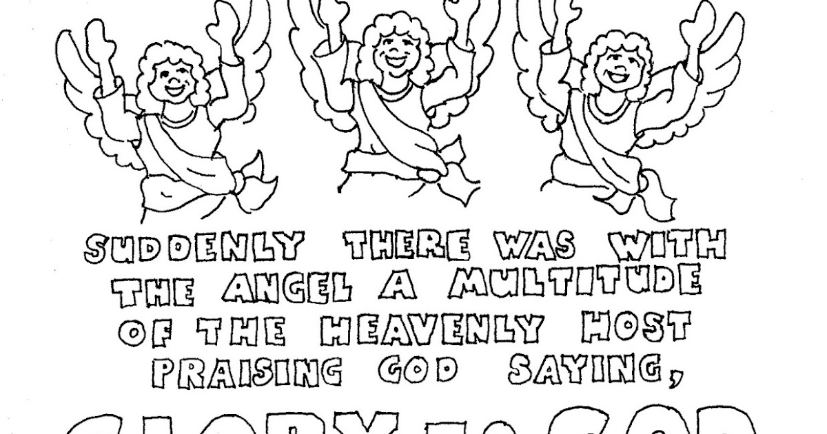 Coloring Pages for Kids by Mr. Adron: Printable Christmas