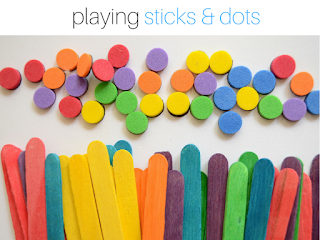 Got Bored Kids? 17 Practical Mom Ideas to try right away! Playing Sticks & Dots