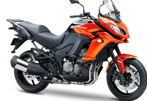 Kawasaki Versys 1000 2015: Color Anaranjado