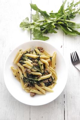 pasta verdura salsiccia primi patti veloce gustoso facile