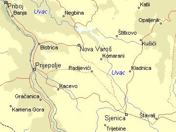 uvac srbija mapa Per@ Travel: UVAC uvac srbija mapa