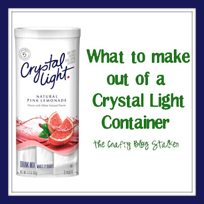 What to Make Out of Crystal Light Containers