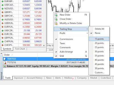 Forex: Ce este Trailing Stop și cum îl utilizezi?
