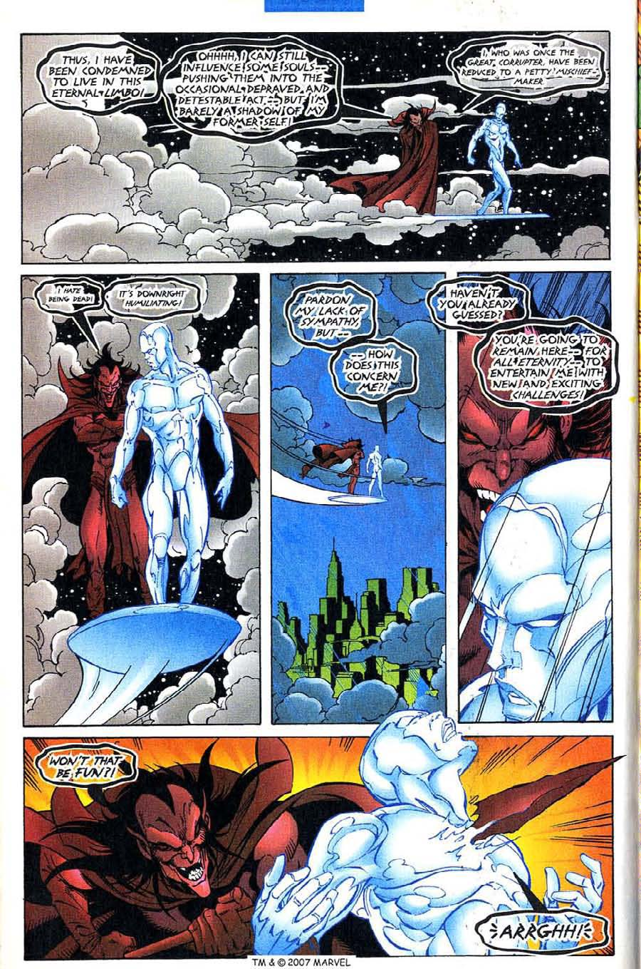 Read online Silver Surfer (1987) comic -  Issue #136 - 14