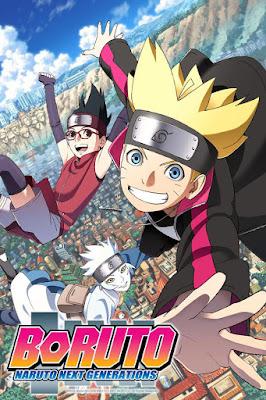 Boruto anime cover, portada, poster