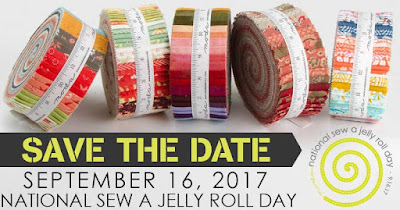 National Sew a Jelly Roll Day 2017