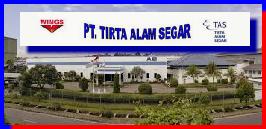 Lowongan Kerja Operator Produksi PT Tirta Alam Segar (TAS) Terbaru 2016