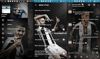 BBM Mod Juventus F.C Transparan V3.2.0.6 Apk