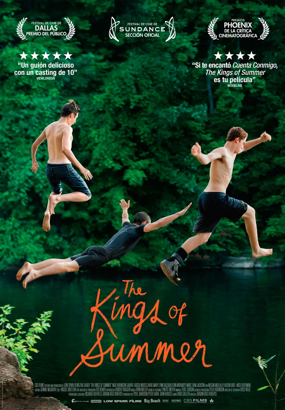 The Kings of Summer ทิ้งโลกเดิม เติมโลกใหม่ [HD][พากย์ไทย]