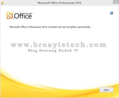 Panduan Mengatasi Masalah Microsoft Office Tidak Boleh Di Uninstall