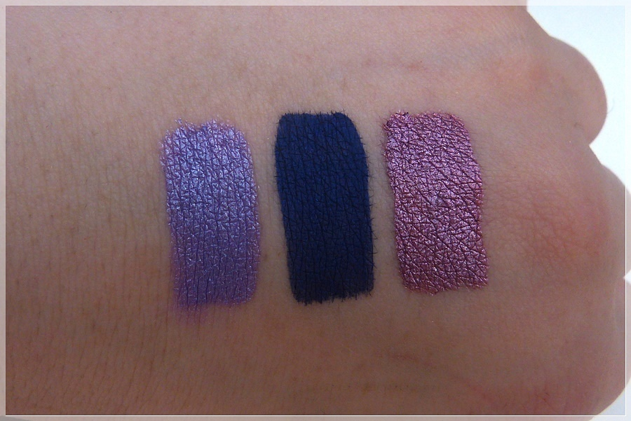 Lethal cosmetics CHIMERA Liquid Lipsticks Swatches