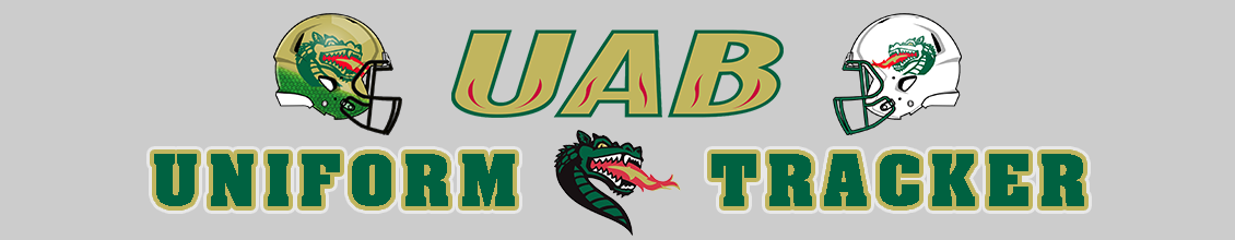 UAB Football Uniform Tracker