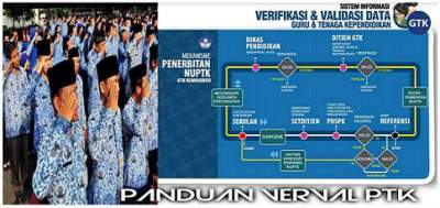 Panduan Verval PTK terbaru tahun 2017