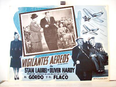 Caratula, cover, dvd, poster: Vigilantes Aéreos. El Gordo y el Flaco | 1943 | Air Raid Wardens