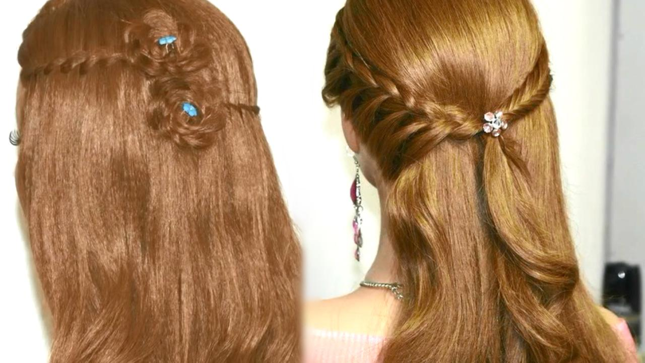 Easy pretty hairstyles step by step