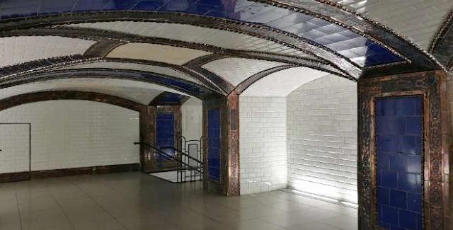 Vestíbulo Pacífico de Metro de Madrid