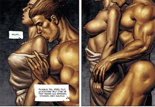 Inguinis, Les corps de Rôme s'enlacent et s'embrassent