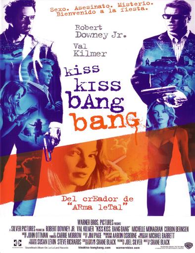Ver Entre besos y tiros (Kiss Kiss Bang Bang) (2005) Online