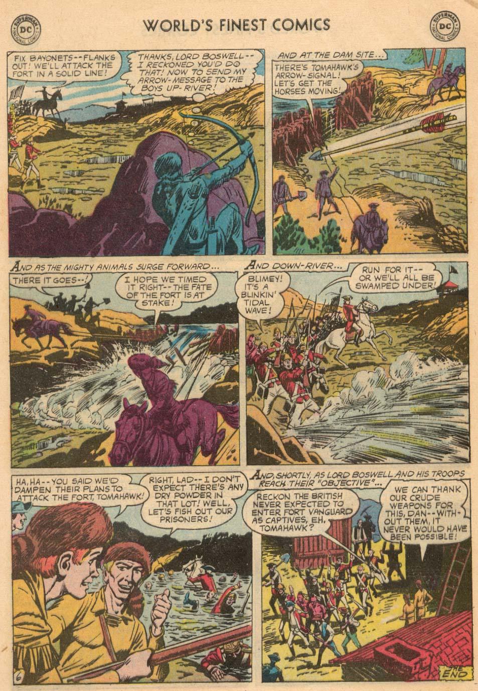 Read online World's Finest Comics comic -  Issue #93 - 32