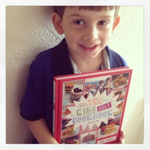 The kids only cookbook by sue quinn