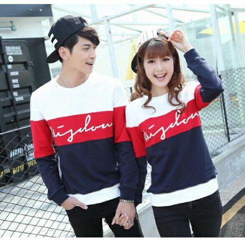 Jual Online Sweater Wisdom Saga White Red Murah Jakarta Bahan Babytery Terbaru