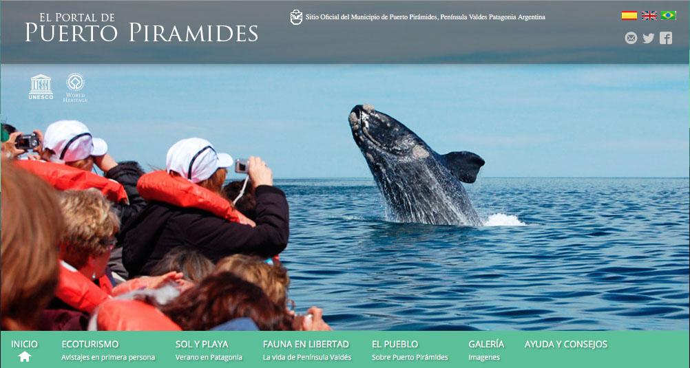 Lanzamiento temporada de avistases de ballenas en Península Valdés