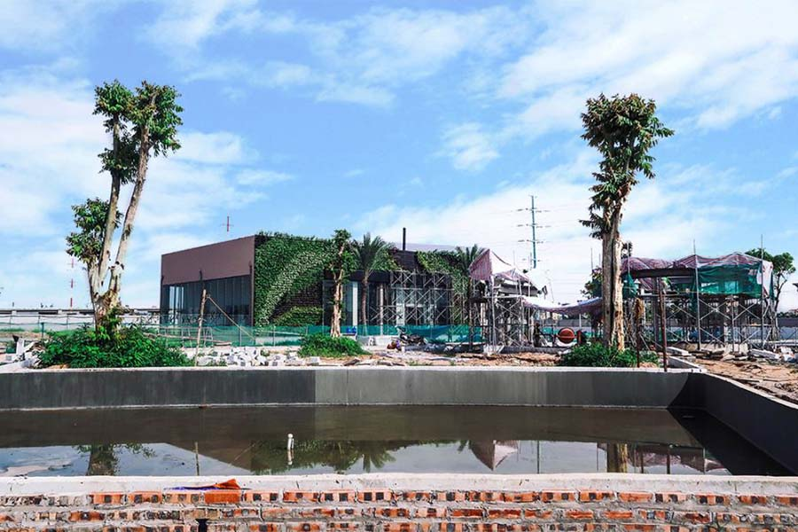 Tiến độ thi công dự án Sunshine City tháng 7/2017
