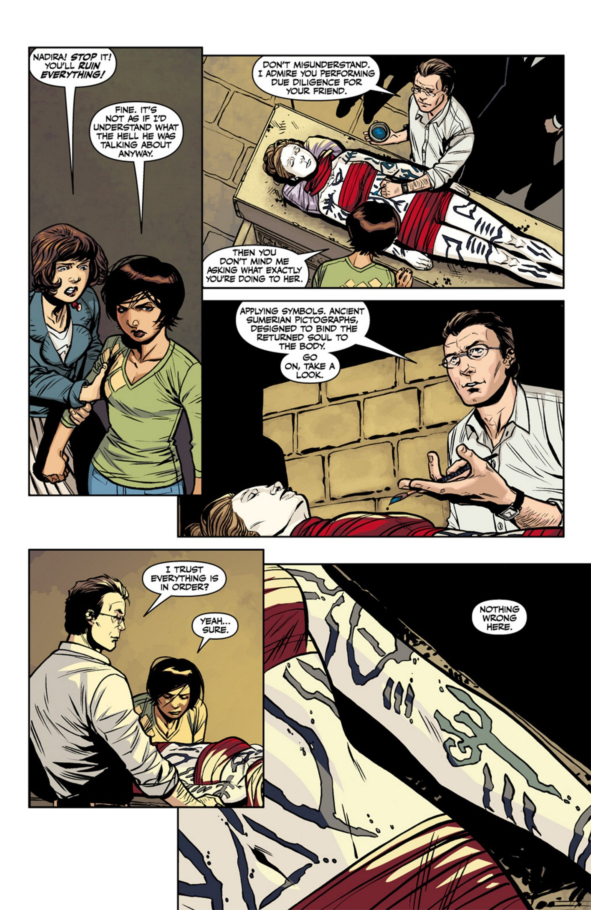 Read online Angel and Faith comic -  Issue #17 - 11
