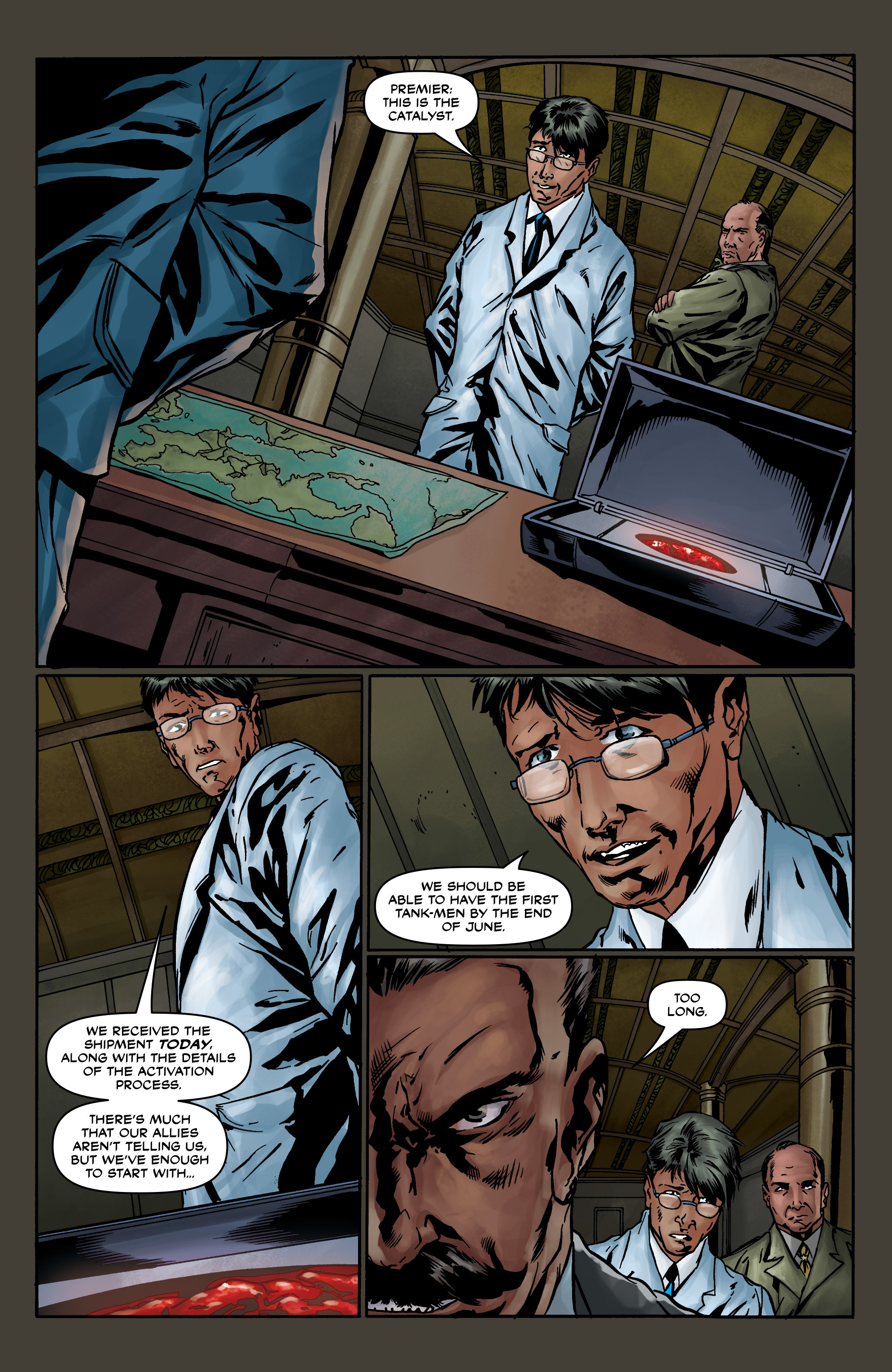Read online Uber comic -  Issue #8 - 9