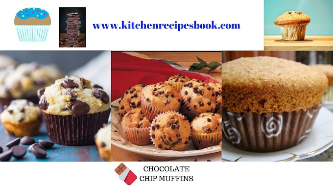 Chocolate Chip Muffins Recipe | Homemade Muffins Recipe |
