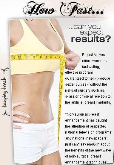Breast actives results happiness has