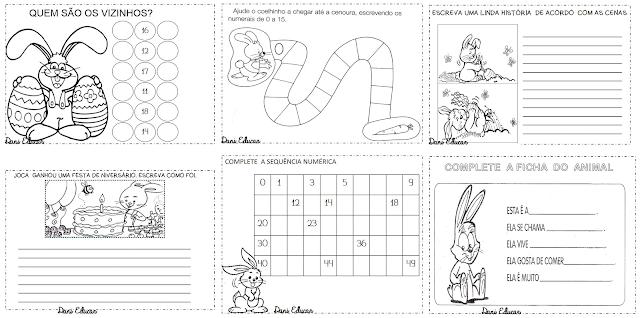 Nesta postagem trago para vocês Atividades de Matemática indicada para alunos do segundo ano com a temática páscoa.