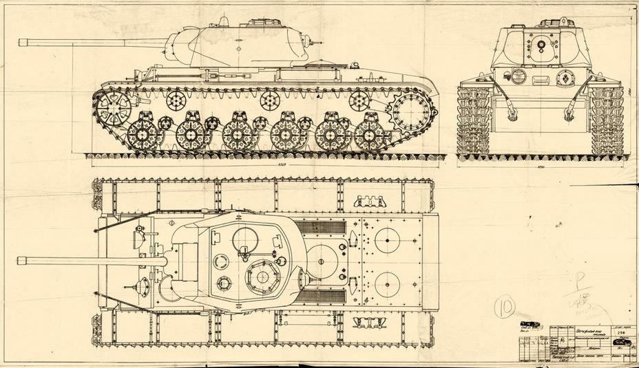 Наши Танки №6 - КВ-85