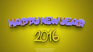 Kartu Ucapan Happy new year 2016 selamat tahun 2016 29