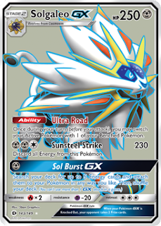 Solgaleo GX Sun and Moon
