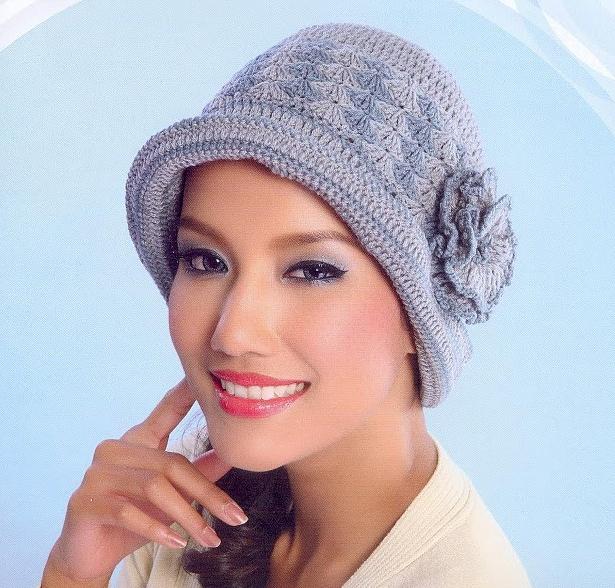 Patrón #1158: Sombrero a Crochet
