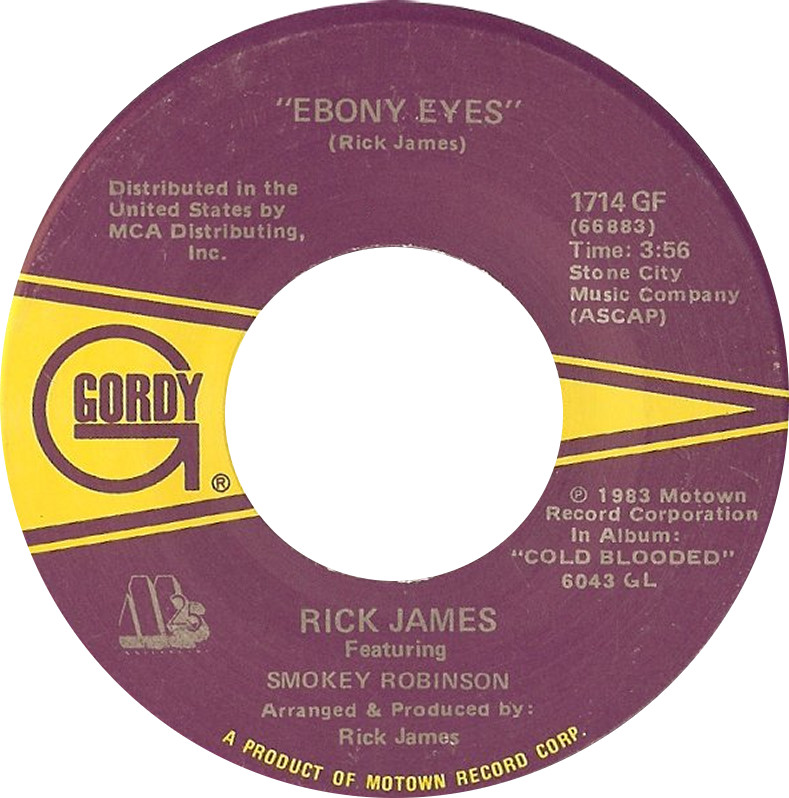 Ebony eyes by rick james