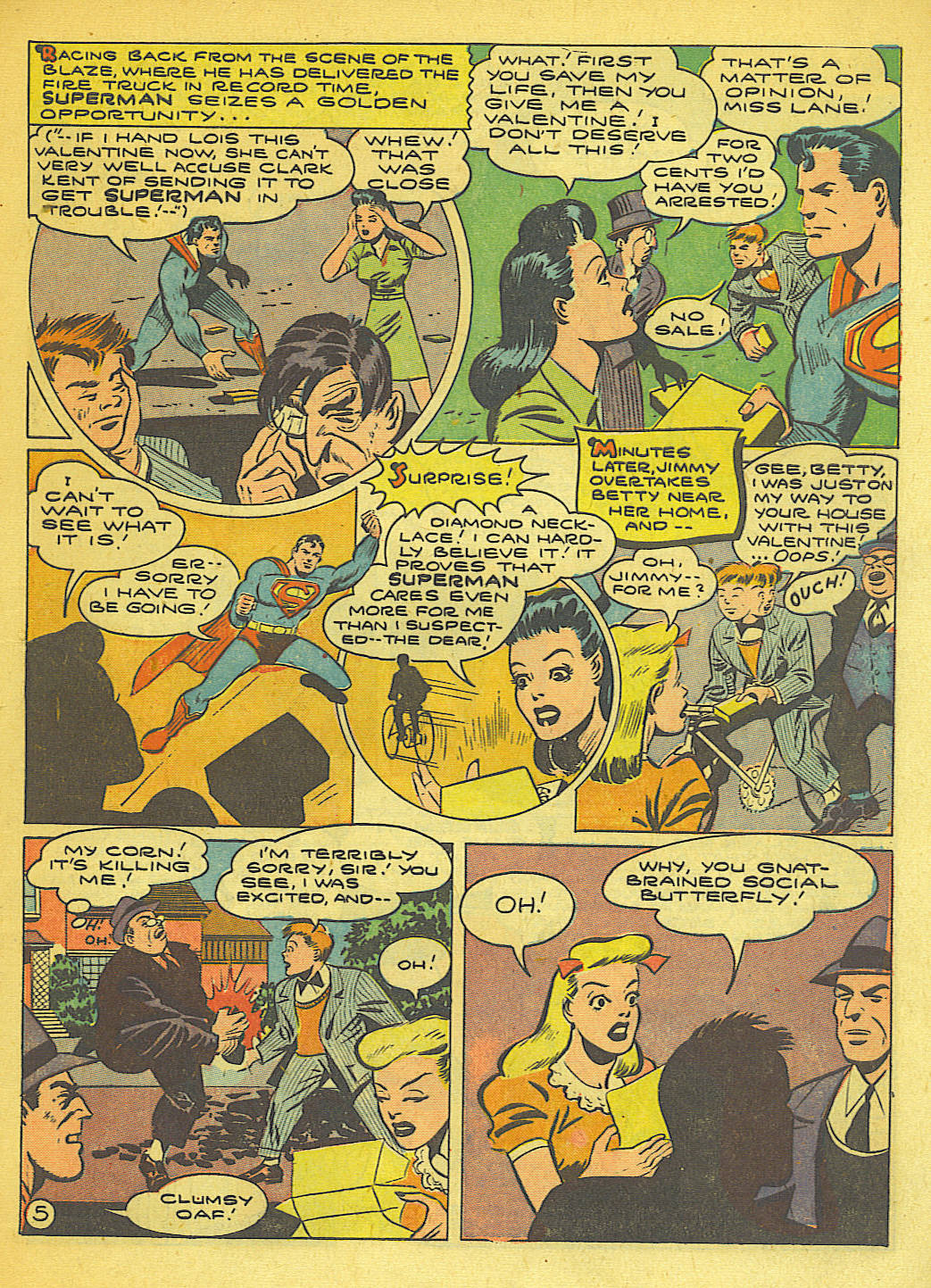 Read online Action Comics (1938) comic -  Issue #71 - 7