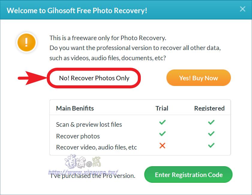 Gihosoft RePicvid 免費圖片救援軟體