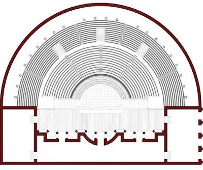Roman theatre of Fano forgotten under ex-factory